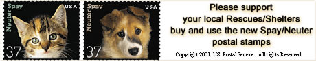 Please buy and use the new Spay/Neuter stamps!