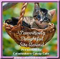 Pawsitively Delightful Site Award