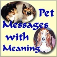 The Pet Messages With Meaning Webring