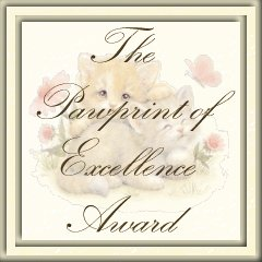 Pawprint of Excellence Award