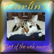 Darlin's Best Of The Web Award