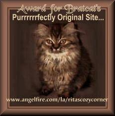Purrfectly Original Site Award