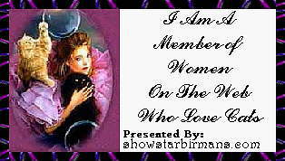 Women On The Web Who Love Cats Banner
