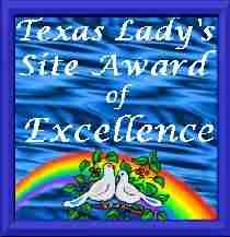 Texas Lady's Site Award of Excellence